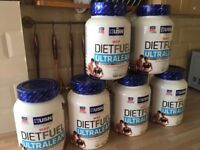 Meal replacement huge tubs x6