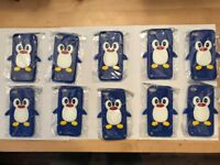Apple iPod Touch 5 cover, blue rubber covers case mobile, iPhone ,I pod, joblot, mobile phone cases