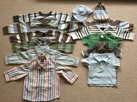 Boys Clothes Bundle. Ages 0-18months.