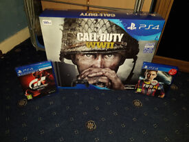 Brand New And Sealed Playstation 4 500GB with 2 Games PS4
