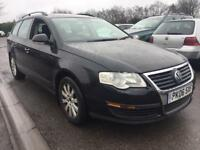 VW PASSAT 1.9 TDI S ESTATE BLACK MANUAL 5 SPEED PX WELCOME