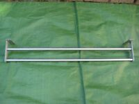 IKEA Grundtal Stainless Steel 80 cm Double Towel Rail for £7.00