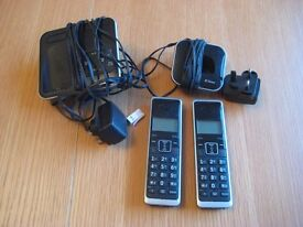BT Xenon 1500 cordless phone, twin dect