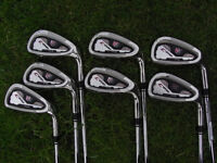 WILSON C200 IRONS less than 2 Years old lovely condition