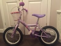 Girls Apollo Petal Lilac 12 inch bicycle