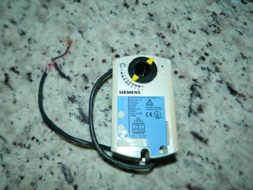 SIEMENS GDE161.1P OPENAIR ELECTRIC DAMPER ACTUATOR NON-SPRING RETURN ROTARY