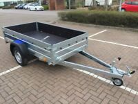 Brand new Faro Tractus 2,36cm wood side 35 cm car box trailer 750kg