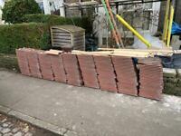 Free Double Roman tiles (concrete Redland 50)