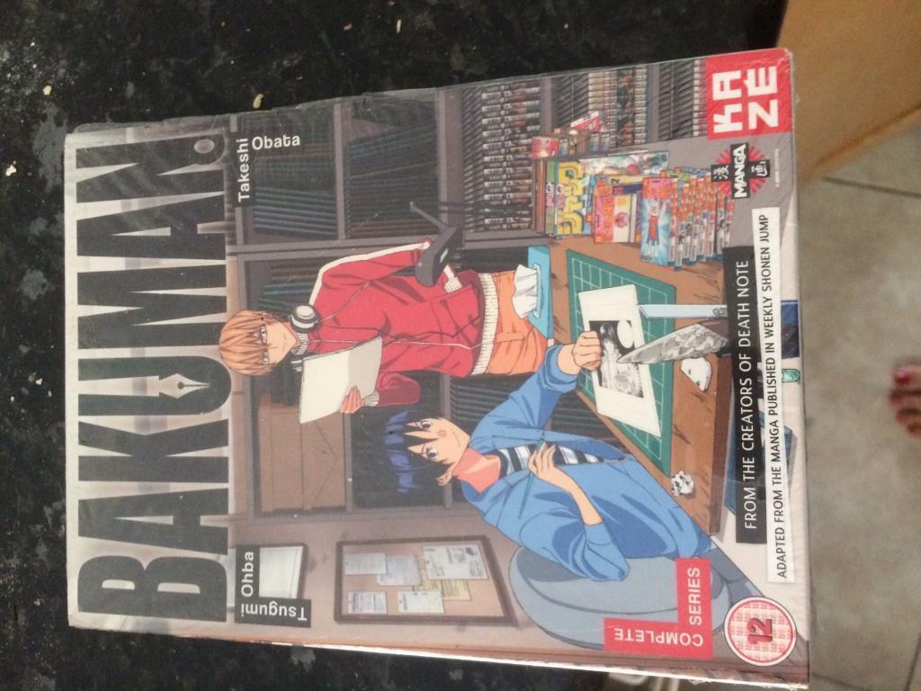Bakuman Manga dvd Series 1 | in Horsforth, West Yorkshire | Gumtree