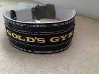 Gold's gym weight lifting belt