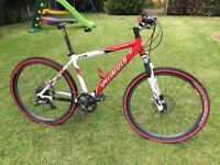 "Specialized Rockhopper A1 Pro FS - Hope, Race Face, Easton parts (Retro 26"" Mountain Bike)"