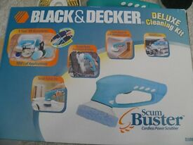 black and decker scum buster
