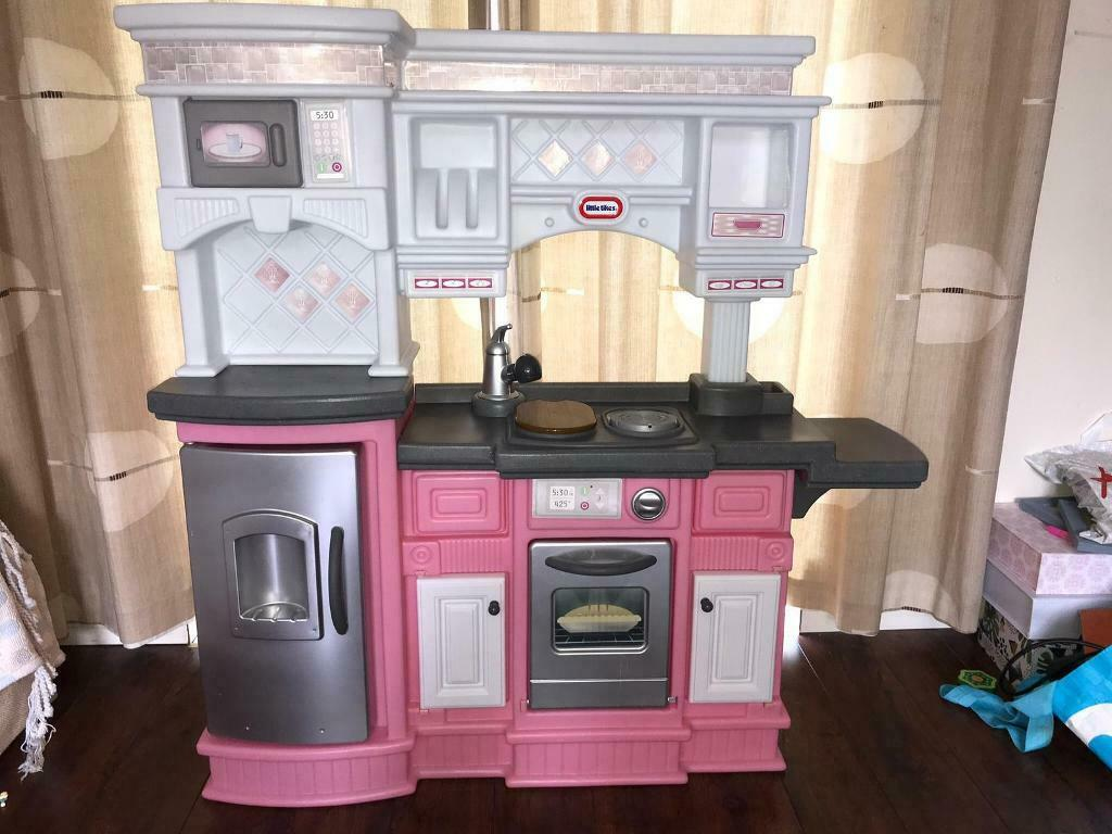 Little Tikes Kids Gourmet Prep N Serve Kitchen Pink With Accessories In Bicester Oxfordshire Gumtree