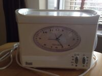 Swan bedside Teasmade and Detachable Serving Tray