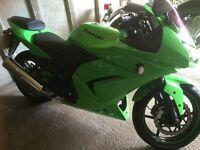 Ninja 250 green