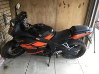 Daelim mototbike 125cc 8000 miles 7 month MOT. Selling due to Bereavment £800