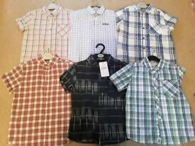 Boys Short Sleeve Shirts Age 7