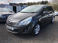 2011 Vauxhall Corsa SXI 12 MONTHS WARRANTY, Only £106 P/M
