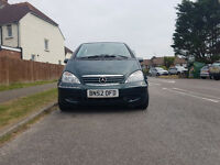 Mercedes-Benz A Class 1.4 A140 Elegance 5dr (LWB) £799 p/x welcome 2002 (52 reg), Hatchback