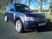 Stunning 05 (2006 facelift model) Range Rover 4.4 v8 auto Vogue trade in considered at trade prices