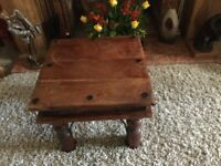 Thakat wooden petite coffee table occasional table