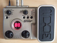 Zoom G1Xnext Electric Guitar Multi-effects pedal with Zoom mains adaptor