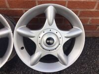 "BMW wheels Mini Cooper 16"" Alloy and tyre Spare Alloy 5th wheel"