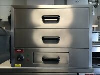 NEW HOT HOLDING DRAWER CHICKEN PERI PERI SHOP CATERING COMMERCIAL KITCHEN BBQ KEBAB