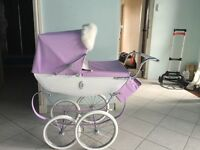 A child silver cross Pram limited edition