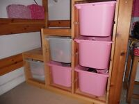 Ikea Trofast Storage Unit with Drawers