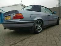 Bmw convertible e36 with mods