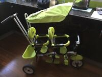 Twins Trike Tricycle Apple Green