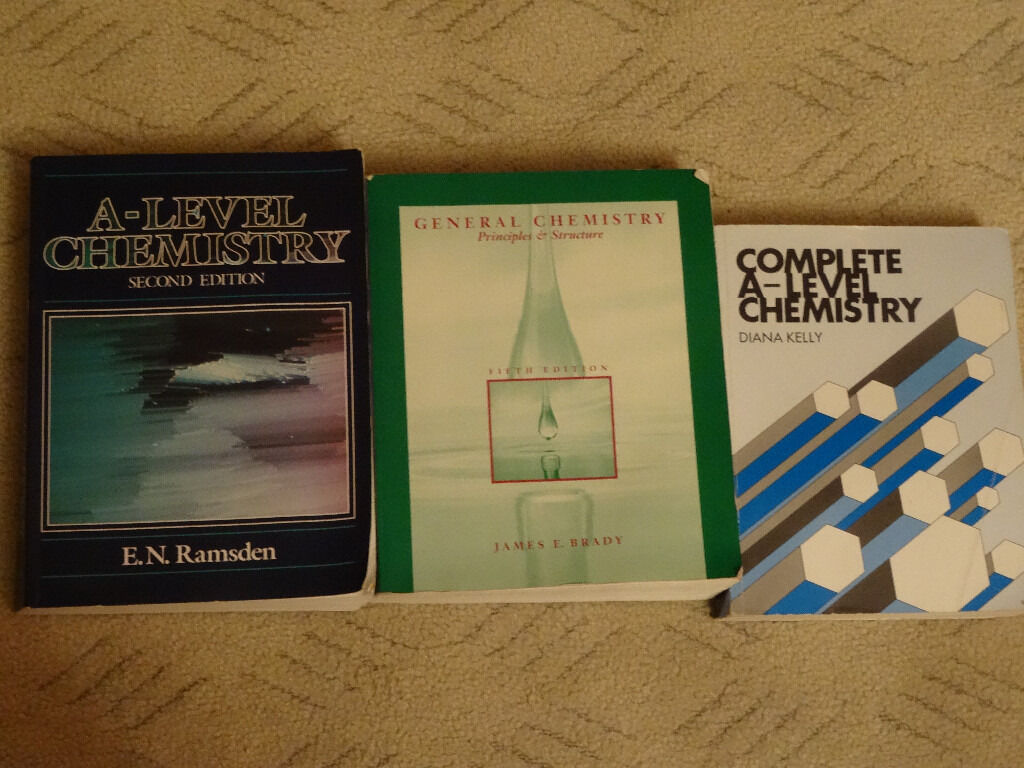 A-Level Chemistry Books - Excellent Condition