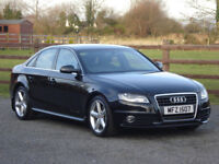 2012 AUDI A4 2.0 TDI S LINE (143) AUTOMATIC **ONLY 50,000 MILES**