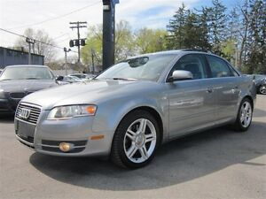 2006 Audi A4 3.2L V6 NAVIGATION/47KM/LOW KMS/LEATHER/SUNROOF !!