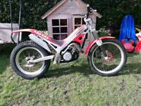 1996 Fortuna 350 gas gas trials bike