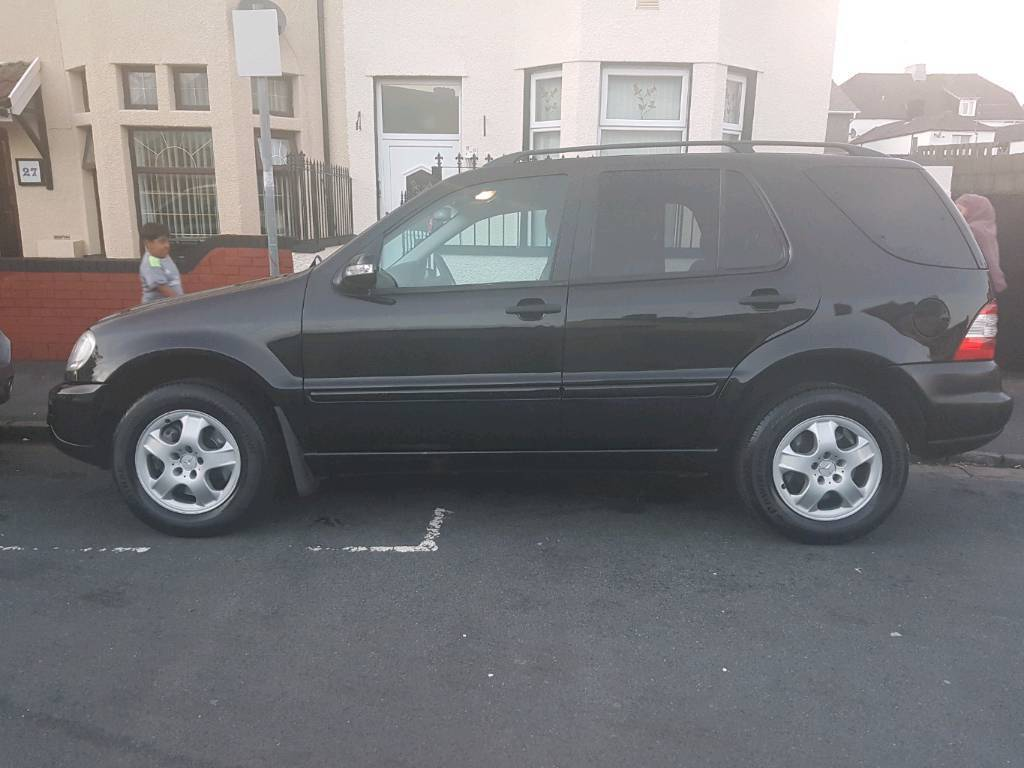 Mercedes ml 270cdi 7seater automatic diesel 2005