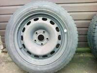 Caravan Wheels X 2