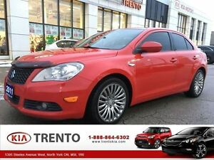 2011 Suzuki Kizashi SX AWD|LEATHER|SUNROOF|18ALLOY|TINT