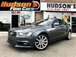 2014 Audi A4 2.0 Premium - LEATHER SUNROOF - CERTIFIED