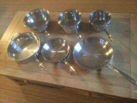 Calphalon Stainless Steel Pan Set