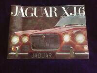 Jaguar XJ6 Sales Brochure