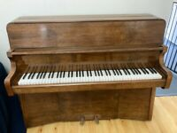 Upright Bently Piano