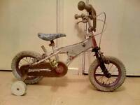 Kids First Bike with Stabilisers