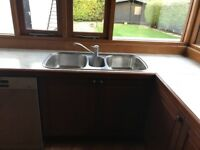 Blanco Triple Kitchen stainless steel sink