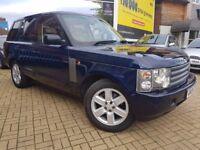 Land Rover Range Rover 4.4 V8 Automatic, Vogue 5dr,REG:2004,good runner, 3 MONTHS WARRANTY