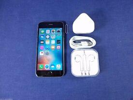 Apple iPhone 6 16GB Unlocked Space Grey & White