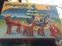 Playmobil 123,Father Christmas with Reindeer