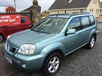 NISSAN X-TRAIL 2.2 TURBO DIESEL (53) MOT 14/10/17, WARRANTY £1150