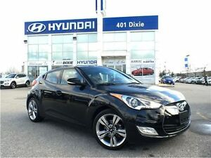 2016 Hyundai Veloster TECH|NAVI|BACK-UP CAM|LEATHER|ONE OWNER